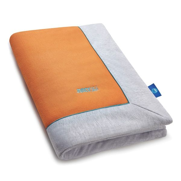 JUICY CHIC ORANGE kids quilt - Juicy Details  Multifunction and elegant quilt made of certified knitted cotton fabric and high quality cotton with enhanced softness and delicacy. Blanket is finished with colourful piping.