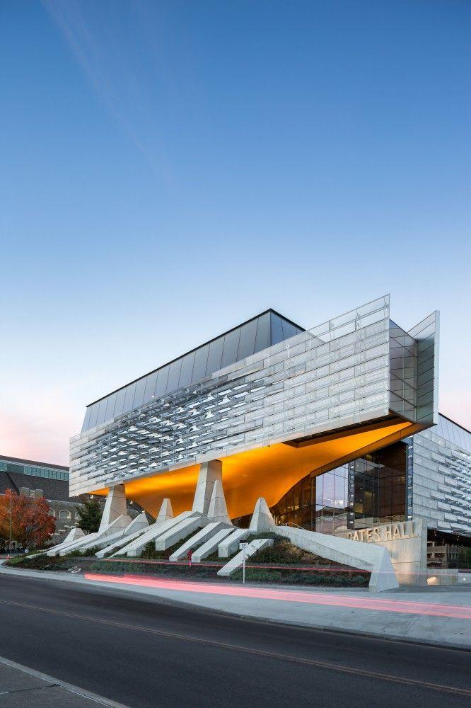 Bill & Melinda Gates Hall by Morphosis Architects / Bill and Melinda Gates Hall, Cornell University, Campus Road, Ithaca, NY 14853, USA