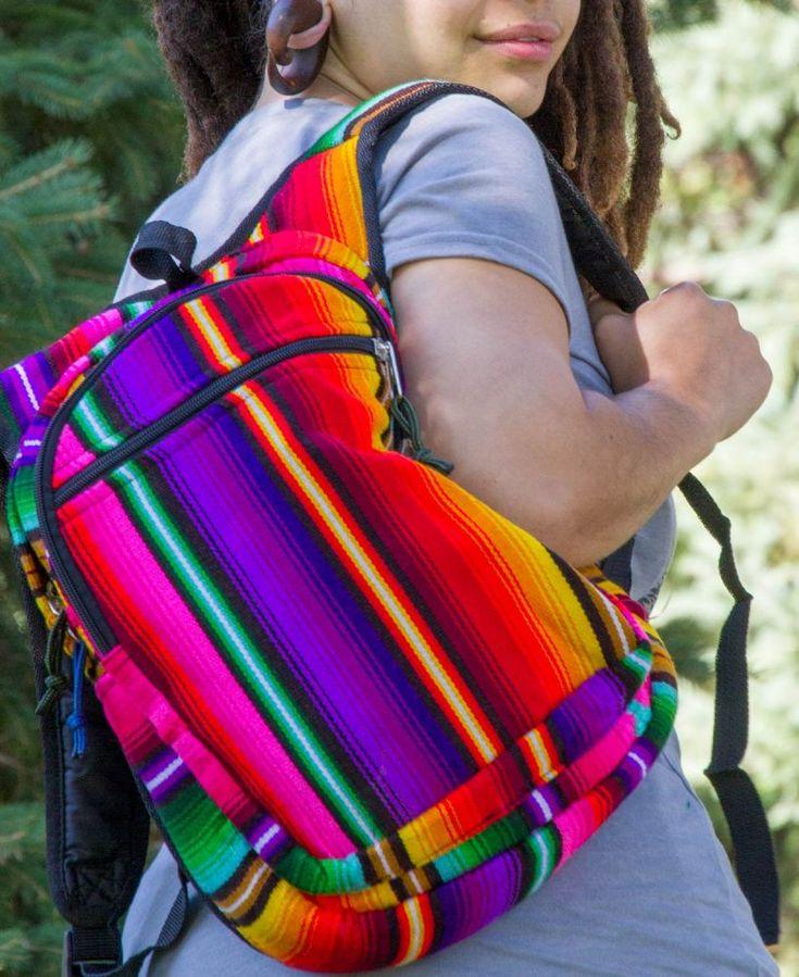 SALE! Rainbow Hippie Backpack