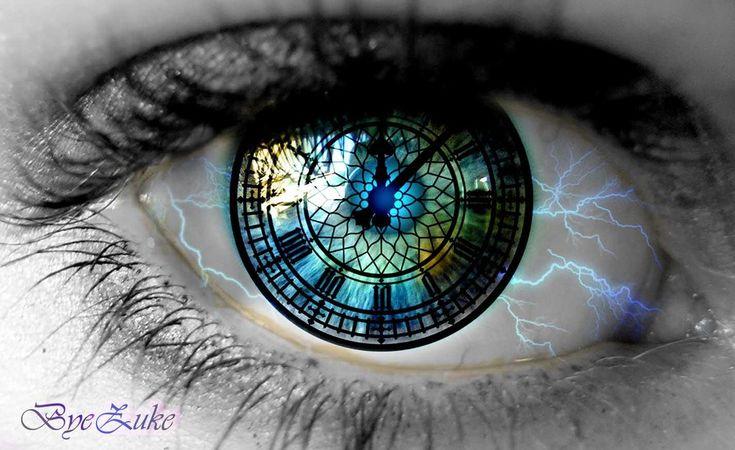 Clock Eye by byezuke.deviantart.com on @deviantART