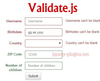 Validate.js – Declarative Validation with Javascript #validation #form #javascript #bootstrap #data #validate #js #formvalidation