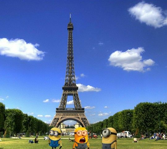 :)minios of paris