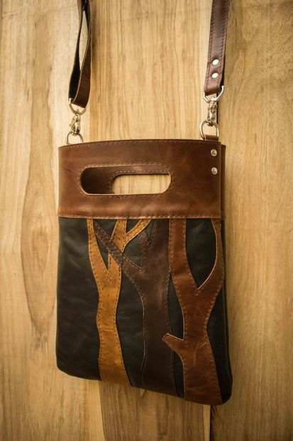 DIY Leather Tree Tote Bag Tutorial on Instructables