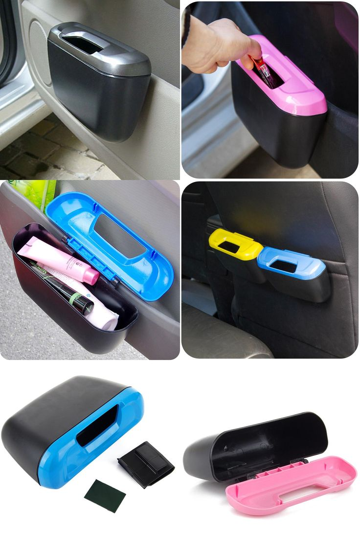 [Visit to Buy] Fashion Car trash can garbage Attractive trash bin Dust Case Holder car storage box organizer trailer trash container inside #Advertisement