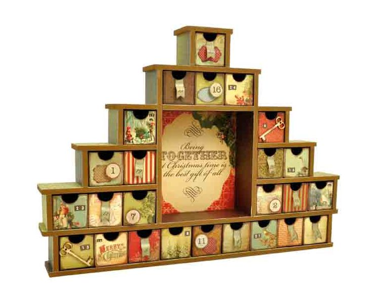 56 Best Images About *diy Advent Calendar 2014 On