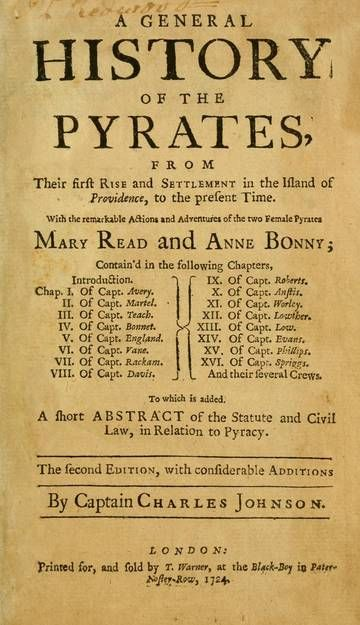 "If you're looking to start a career of piracy, this is the place to find a role model or two. This classic work chronicles the actions and adventures of some of the 18th century's most notorious pirates, including Henry Avery, Edward Teach, Stede Bonnet, ""Calico Jack"" Rackam and Black Bart."