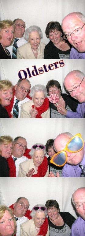 Everyone has fun in a photobooth, no matter the age!