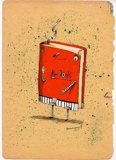 Robert Romanowicz illustration: Mr. Book
