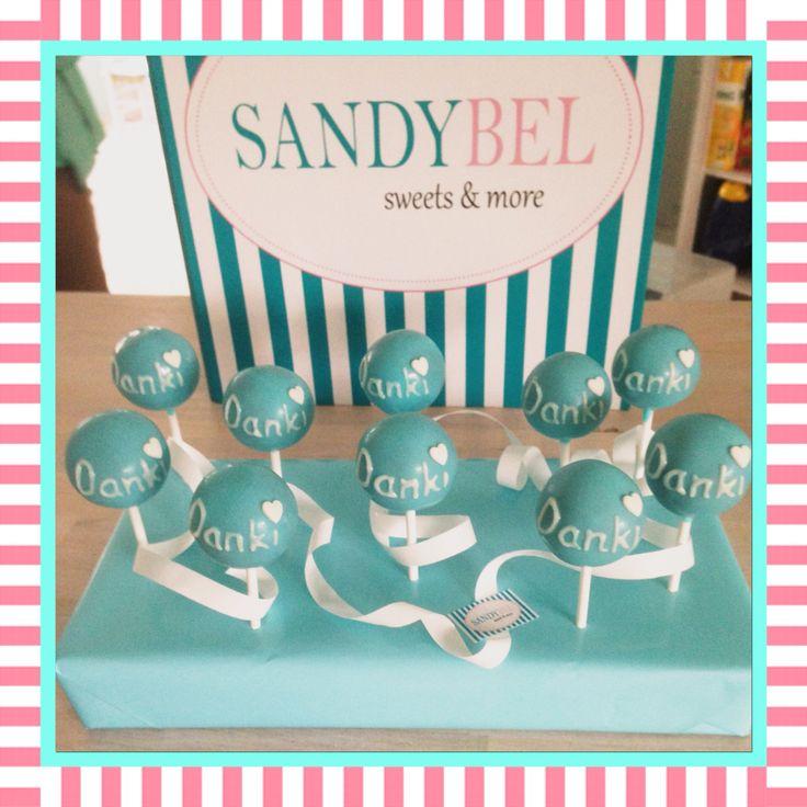 So bedankt man sich bei den Umzugshelfern #cakepops by #sandybel #dankesagen #sweets #nürnberg #fürth