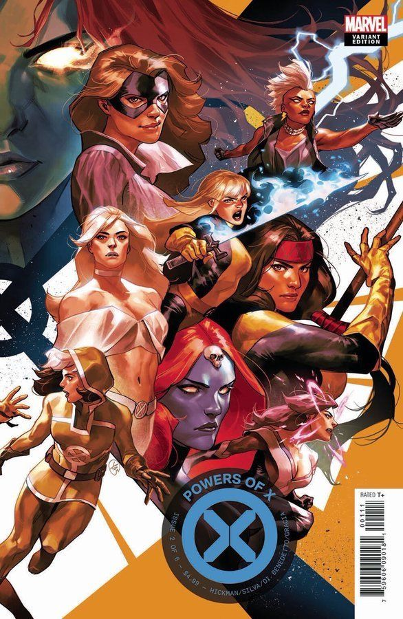 Powers Of X 2 Variant Cover By Yasmine Putri X Men Marvel Comics Artwork