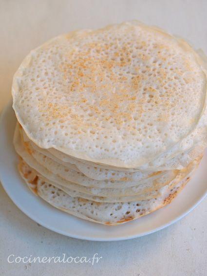 Kallappam (Crêpes à la Farine de Riz et Noix de Coco) - Cuisine Indienne du…