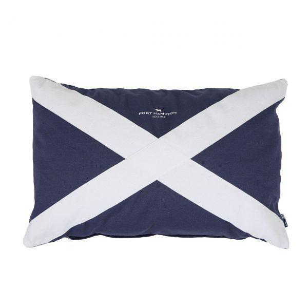 Kissenhulle Flag Blau Maritim Stil In 2020 Kissenhullen Maritim