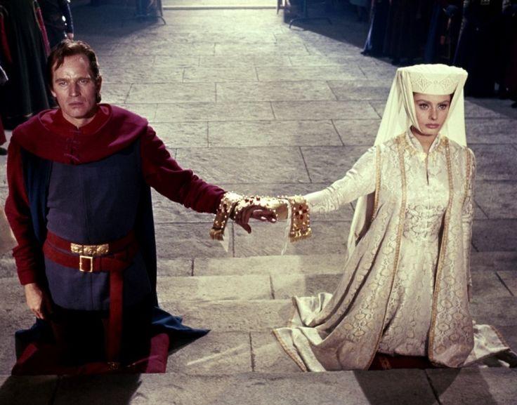 película el cid campeador   Le Cid - Charlton Heston - Sophia Loren Image 6 sur 25
