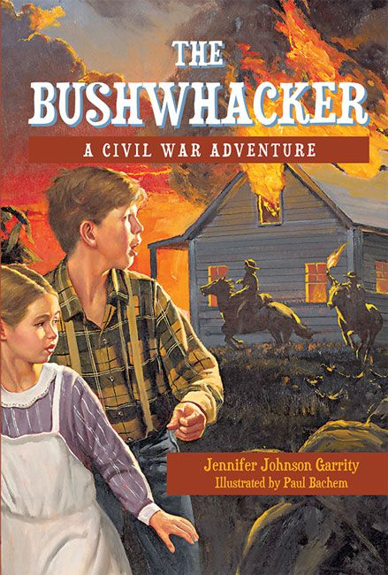 (Peachtree) During the Civil War, fourteen-year-old Jacob Knight returns from the cornfield one day to find bushwhackers—Confederate sympathizers in the Union state of Missouri—terrorizing his family. At the insistence of his mother, Jacob and his seven-year-old sister, Eliza, flee the house for safety.