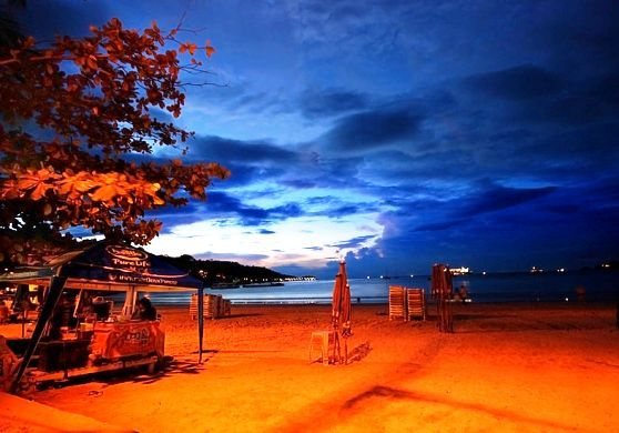Patong Beach is the most popular beach in Phuket Thailand