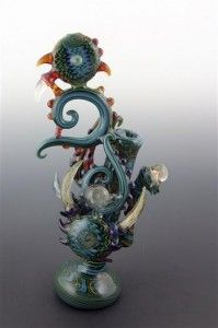 Custom Glass Pipes | smoke12 199x300 10 Best Custom Glass Pipes