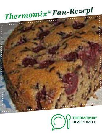 Nusskuchen Mit Sauerkirschen Rezept Kuchen Pinterest Kuchen