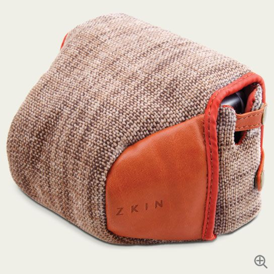 Beautiful single camera carrying case. Love the color and the function.