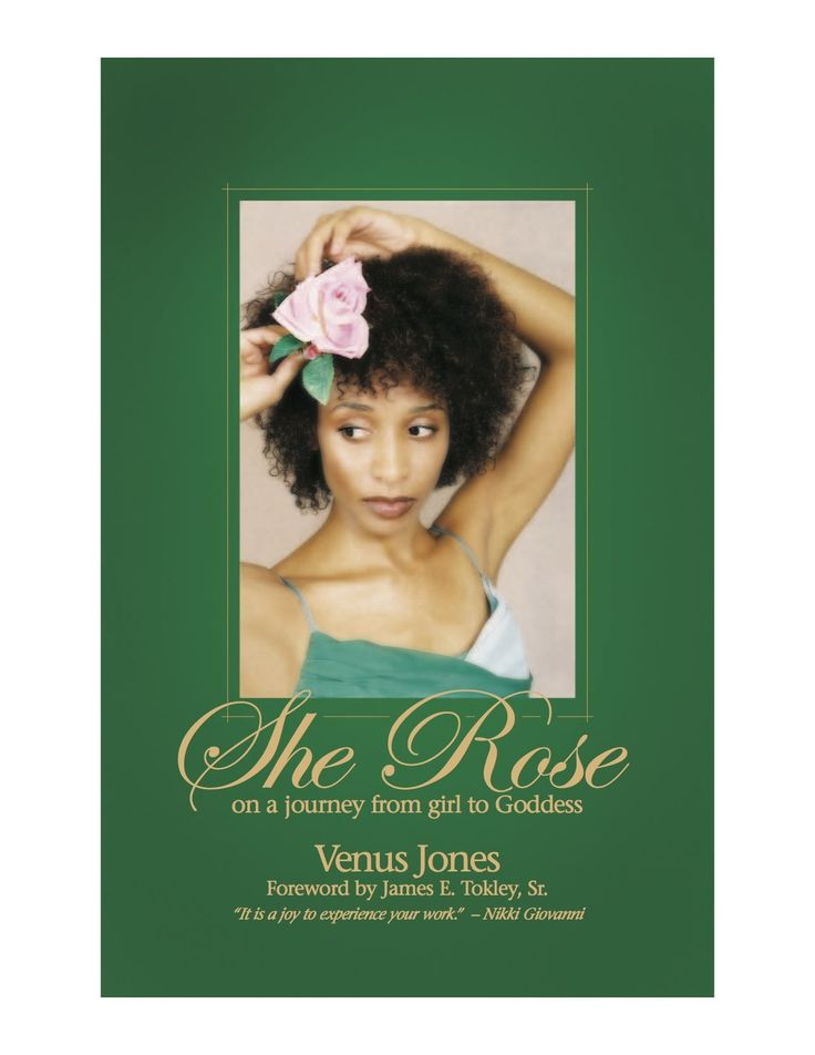 Venus Jones is an accomplished performance poet and actress, who embodies each poem she recites. This best selling book includes seventy poems by the artist. Listen to the words of your favorite pieces come to life. You'll reconnect to nature and feel inspired to rise to your fullest potential with
