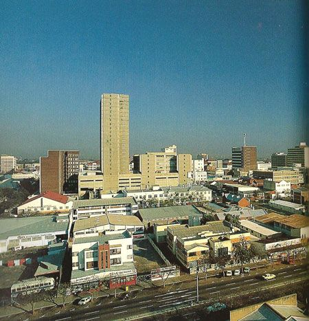 Bulawayo, Zimbabwe - My place of birth.