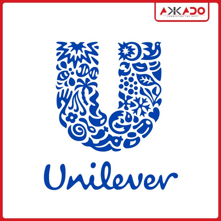 23 icons make this one #logo look great! #Akkado #ConnectingtheDots #Unilever #LogoStory