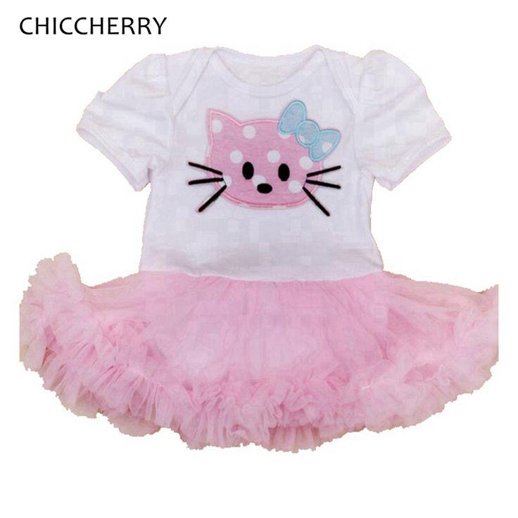 >> Click to Buy << Hello Kitty Dress Girl Lace Tutu Baby Jurkjes Vestidos Infantis Summer Girls Dresses Cute Toddler Girl Clothes Infant Clothing #Affiliate