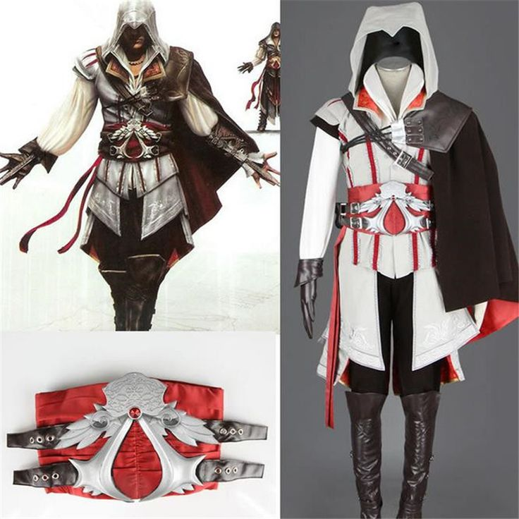Anime Halloween cosplay Assassin's Creed clothing The 2 generation of Assassins Suit