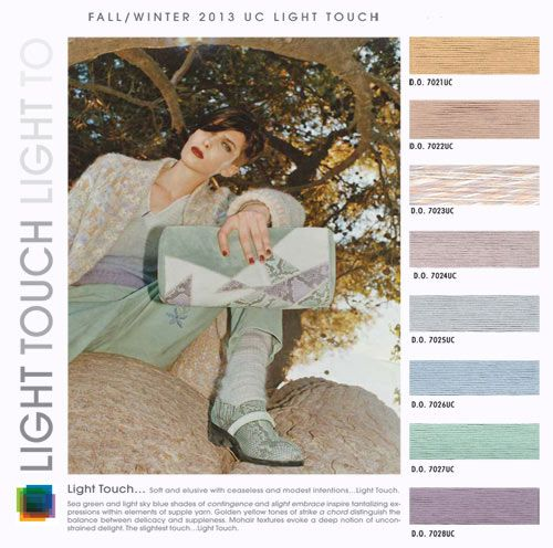 womens color trends fall winter 2013 2014, light touch