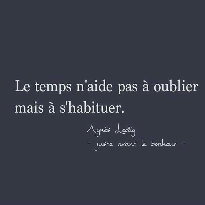 "Agnès Ledig ""Juste avant le bonheur"""