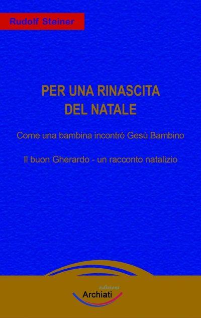 Per una rinascita del Natale - Rudolf Steiner - copertina