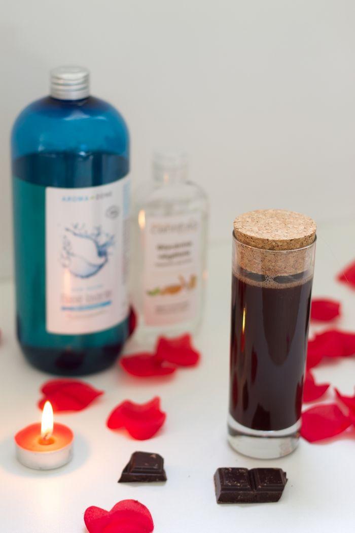 DIY : recette du bain moussant au chocolat (végane) | Glam & Conscious