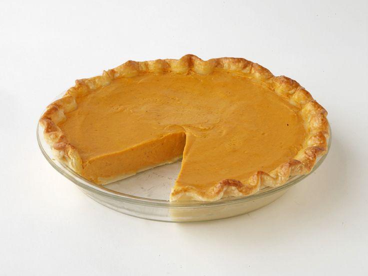 The best Pumpkin Pie ever! From Paula Dean. It's got cream cheese in it!!!!