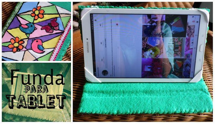 Protege tu tablet de los golpes y del polvo con esta funda que puedes hacer tú mismo.