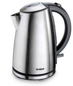 Bollitore Quick Boil Trisa 6423 da 1,7 litri - Elemento riscaldante ricoperto in acciaio inox per una facile pulizia.