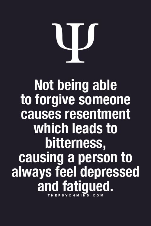 Forgiveness is a really important concept.