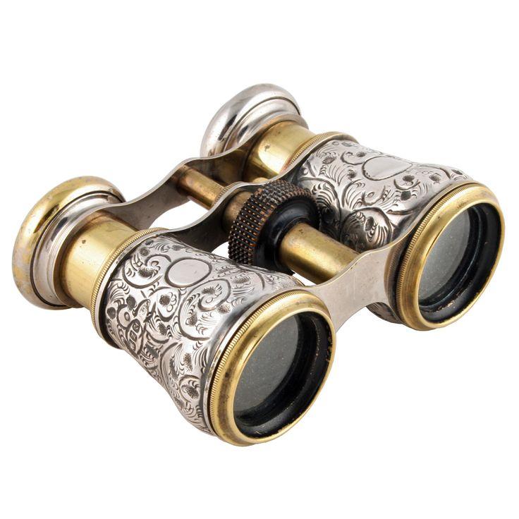 Sterling Silver Sports Binoculars