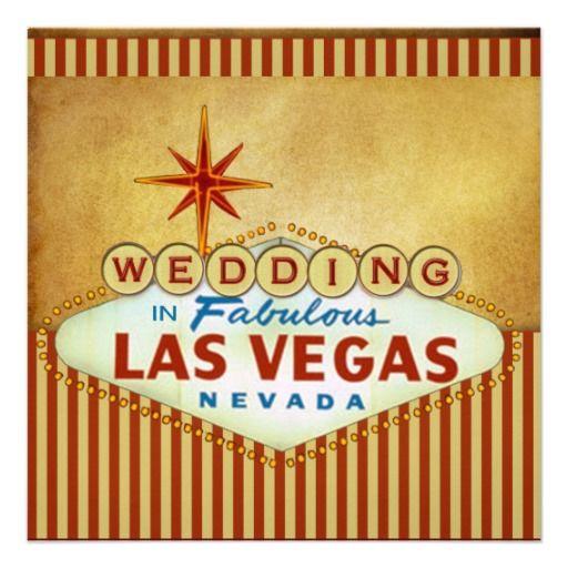 Best 25 vegas wedding invitations ideas on pinterest for Las vegas themed wedding invitations uk
