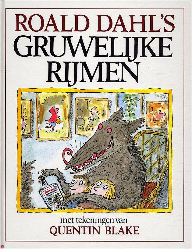 Onderwijs en zo voort ........: 0587. Roald Dahl's Gruwelijke rijmen als film