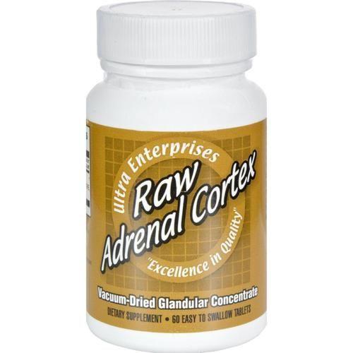 Ultra Glandulars Raw Adrenal Cortex - 60 Tablets - 0438994