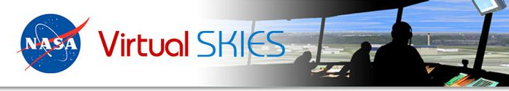Virtual Skies - free course on aviation technology and air traffic management. Students learn scientific concepts involved in RADAR, sound, and meteorology as it applies to flight, while applying principles of algebra, geometry and calculus.