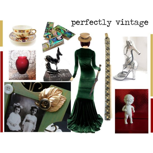 perfectly vintage by seasidecollectibles on Polyvore featuring interior, interiors, interior design, home, home decor, interior decorating, Barbour and vintage