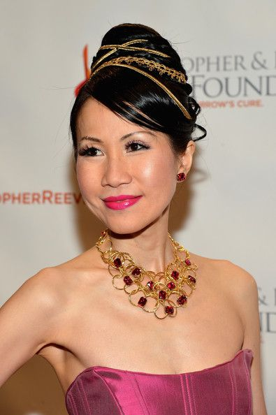 Publisher of Yeu Magazine Chiu-ti Jansen attends the Christopher & Dana Reeve Foundation's A Magical Evening Gala at Cipriani, Wall Street on November 28, 2012 in New York City.
