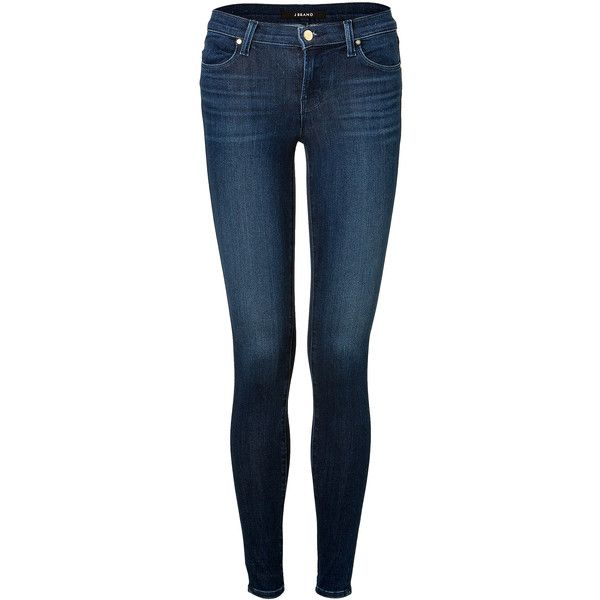 J BRAND JEANS Mid-Rise Super Skinny Jeans found on Polyvore