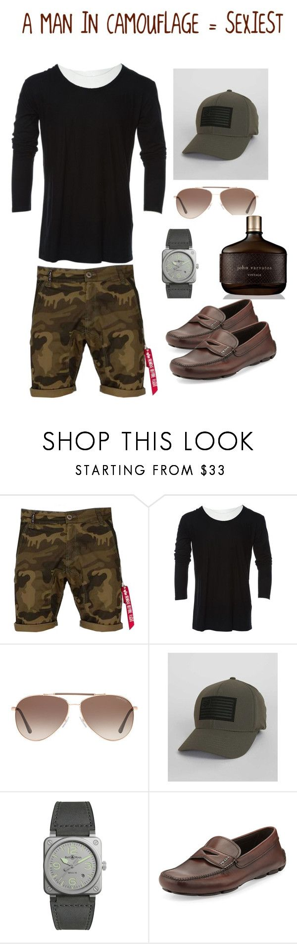 """(::) #13"" by bond-07 ❤ liked on Polyvore featuring Alpha Industries, Balmain, Tom Ford, Fox, Bell & Ross, Prada, John Varvatos, men's fashion and menswear"