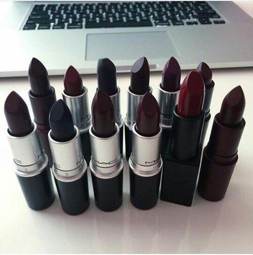 #Mac #Lips #Lipstick #Beauty #Dark #Labiales #Labios #Oscuros