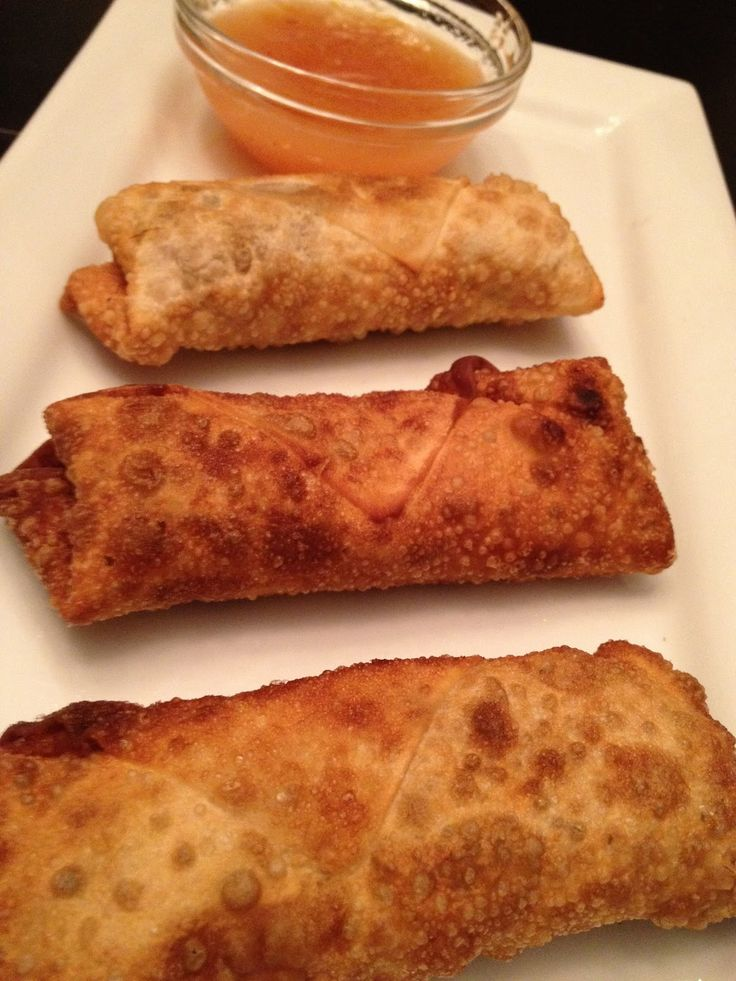 Vegan Egg Rolls & Homemade Duck Sauce | Lisa's Project: Vegan