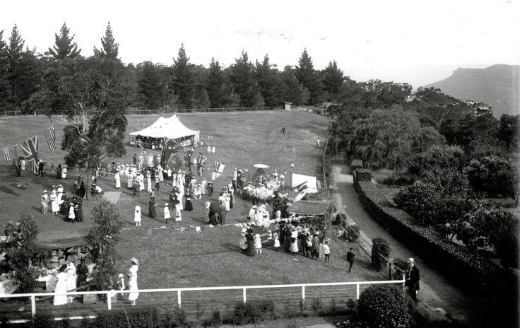 Fete at Lilianfels, Katoomba 1917