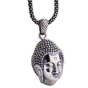 925 Silver Retro Buddha Men Pendants Necklaces Evil Spirits Mascot