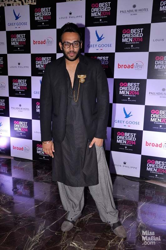 Desi boys goes chic look by Nikhil Thampi.