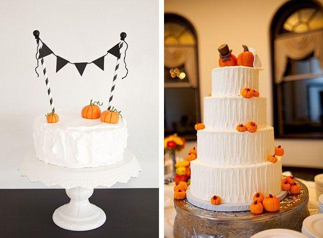 Сладкий стол и торт для свадьбы в тематике Хэллоуин